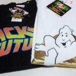 【ユニクロUT:映画プリントTシャツ衝動買い】『バック・トゥ・ザ・フューチャー』と『ゴーストバスターズ2』