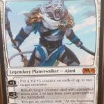 【基本セット2019】暴君への敵対者、アジャニは強い!自衛・強化の盤石性能、善意の騎士を強化せよ!【MTG】