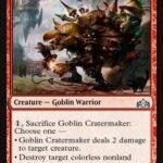 【ラヴニカのギルド新カード】カーンやエムラを破壊するゴブリン《Goblin Cratermaker》【MTGスタン】