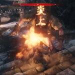 【隻狼(SEKIRO)ボス攻略】赤鬼の倒し方:油と火吹き筒の炎上コンボ【セキロ】